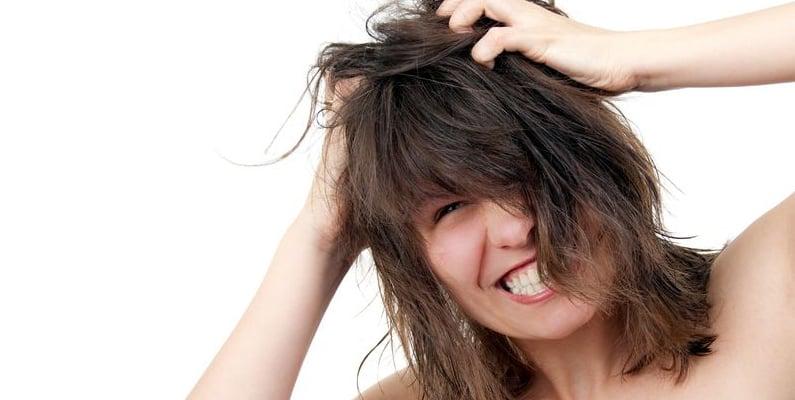 Lavaggio parrucche capelli naturali