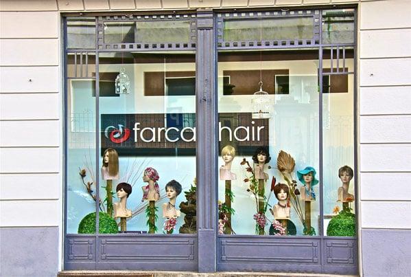negozio parrucche novara
