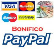 Forme di pagamento Parrucche Online