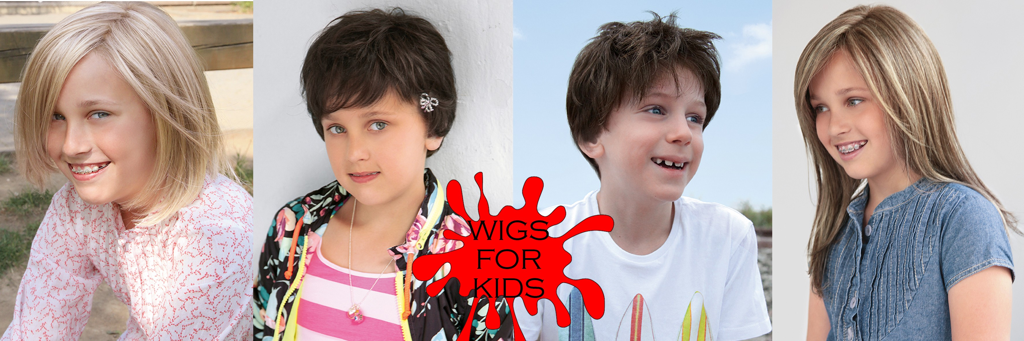 WIGS FOR KIDS - Parrucche per Bambini