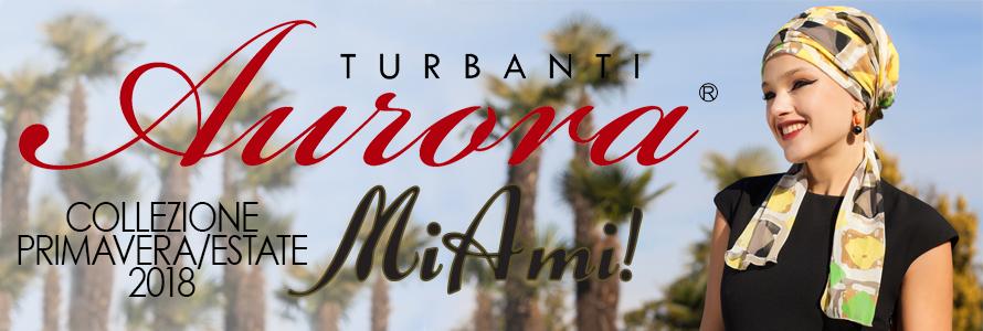Turbanti Aurora collezione primavera / estate