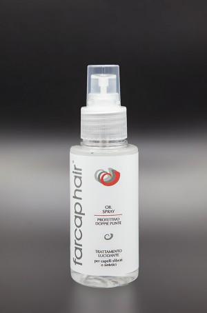 Olio spray per protesi capelli un trattamento