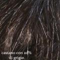 fip castano medio con venti per cento di grigio